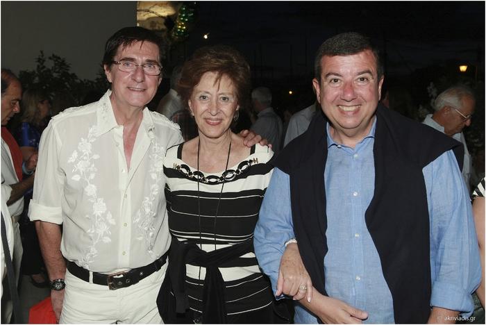 Χάρης Τσιμόγιαννης, Μαρίνα Θεοχαράκη και Τάκης Μαυρωτάς