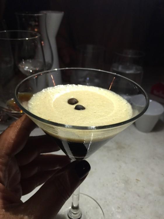 Espresso cocktail...