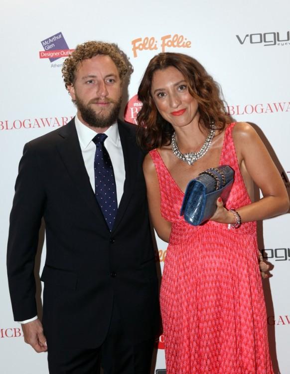 H Alice Agnelli με τον σύντροφό της