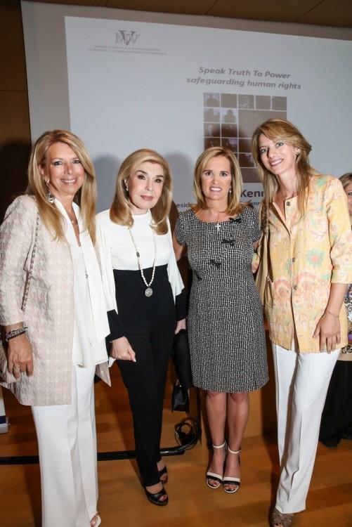 Zέτα Αντσακλή, Μαριάννα Β. Βαρδινογιάννη, Kerry Kennedy, Αλεξία Αντσακλή