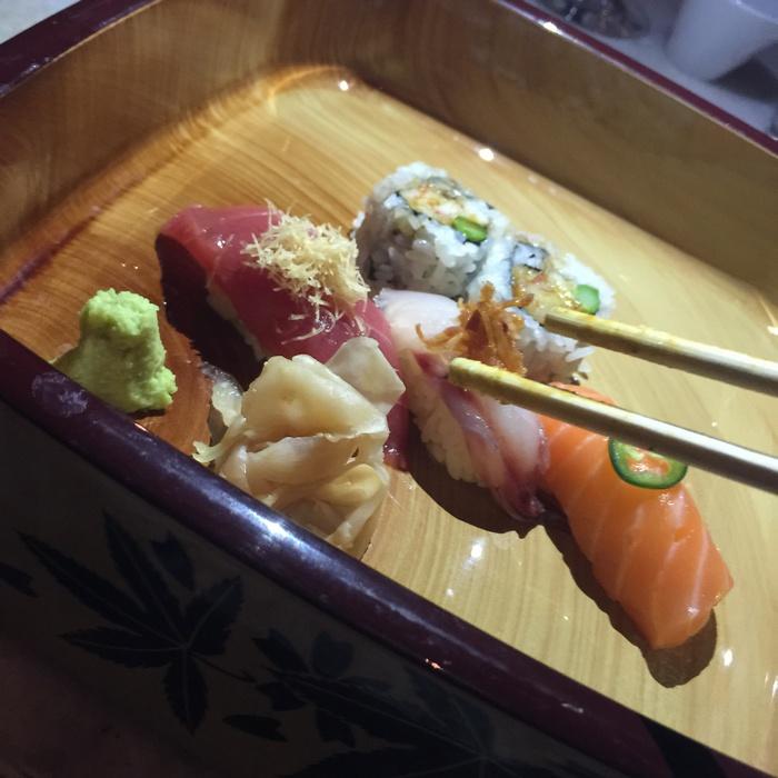 Tataahh!!!! Sushi Selection!