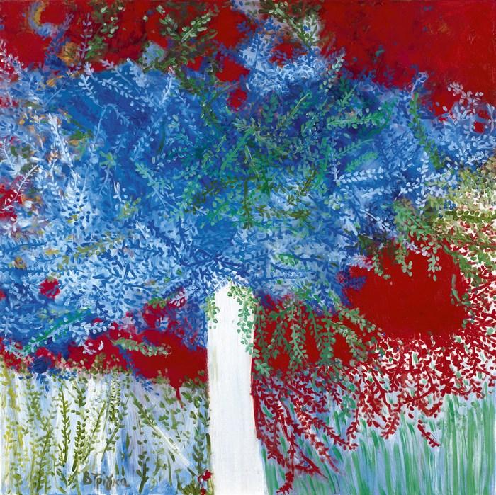 Διάθεση, 100 χ 100 cm, λάδι σε καμβά Mood, 100 χ 100 cm, oil on canvas