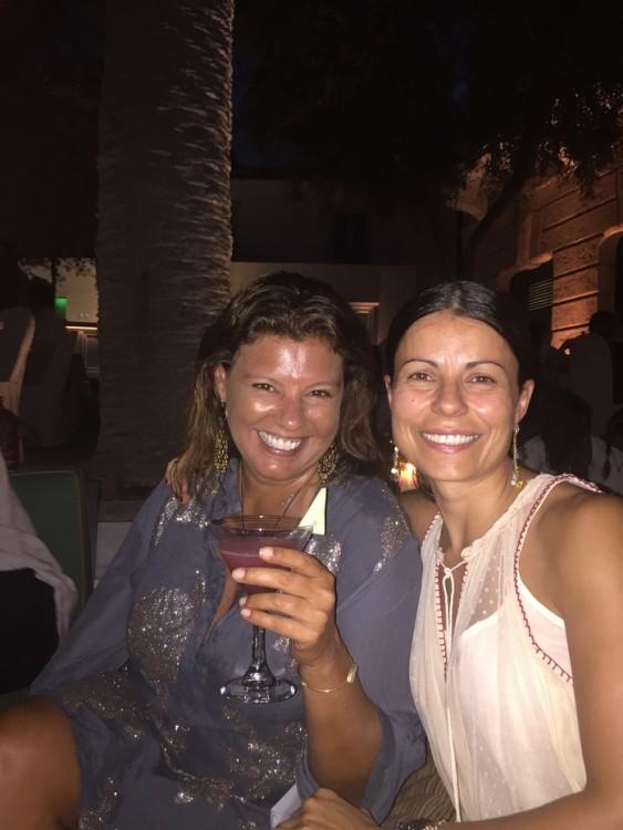 Με την Λένα Αργύρη-Λυριτζή.