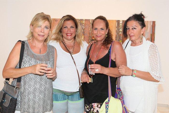 Σίλα Αλεξίου, Μαίρη Αυγερινοπούλου, Πέπη Ραγκούση και Ζέτα Καρασπήλιου