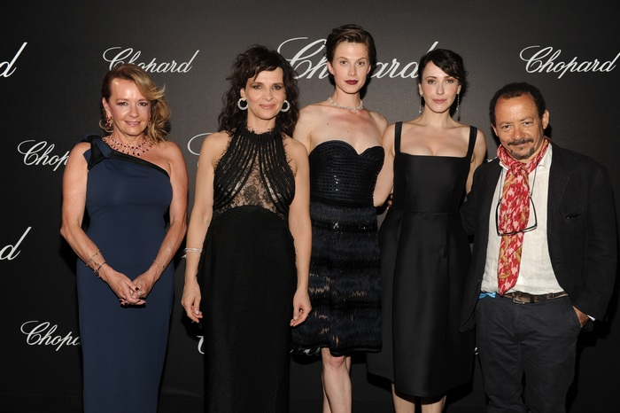 Caroline Scheufele;Juliette Binoche;Elettra Rossellini Wiedemann;Anita Caprioli;Alessandro Rossellini