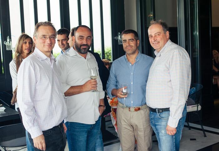 Πέτρος Γερουλάνος, Νικόλας Κατσαρός, Άγγελος Περβανάς, Κωνσταντίνος Παπακωνσταντίνου