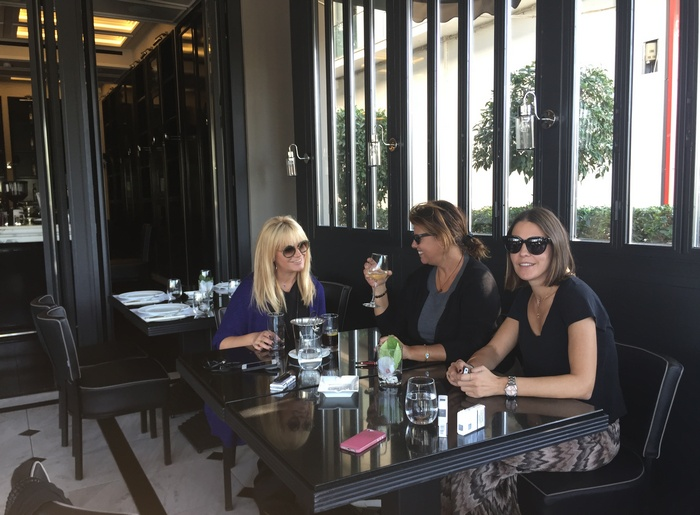 Friends are therapists you can lunch with!