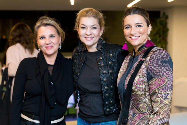 Σουζάνα Μπέη, Πέπη Καραβασίλη, Ρενέ Ίσσαρη