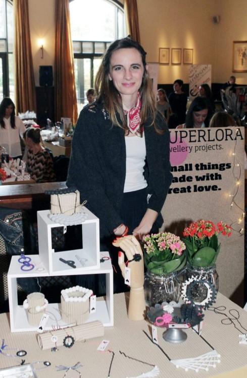 Η Αριάδνη Καπελιώτη της SUPERLORA jewellery