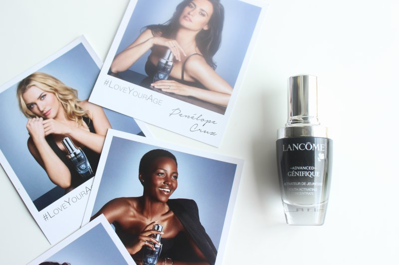 Love Your Age with Lancome Advanced Genifique Concentrate