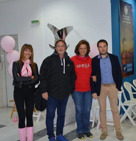 """Αργυρή Κατωπόδη Εκδότρια """"Λευκαδίτικος Λόγος"""" και """"Lefkada Press"""", Πέτρος Μαλακάσης-Ακτινολόγος, η Πρόεδρος της ΕΕΜ Γυναικολόγος-Χειρουργός-Ειδ. Μαστολόγος κ. Λυδία Ιωαννίδου-Μουζάκα, Αλέξανδρος Ασημάκης Ακτινολόγος"""