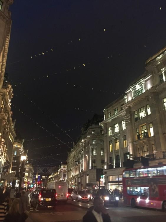Το Λονδίνο το βράδυ...