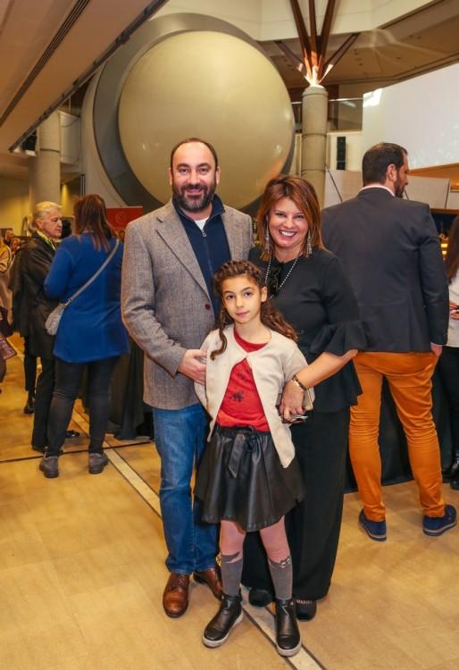 Με τον Νικόλα και την Ελμίνα...