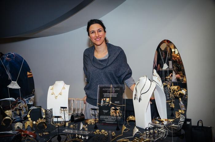 Η Αλεξάνδρα Κούμπα συμμετείχε στο The Pop Up Project με τις extraordinaire δημιουργίες της