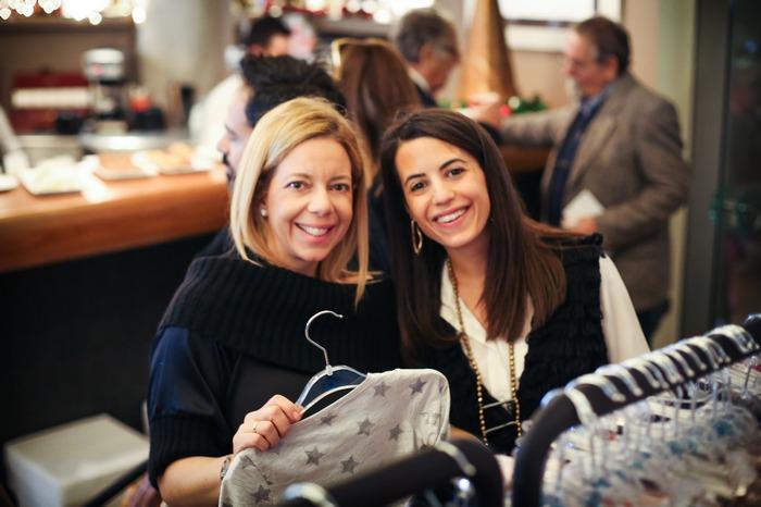 Η Άννα Μαμιδάκη και η Ιλεάνα Ισμυρίδη στο corner της Look @t Me!