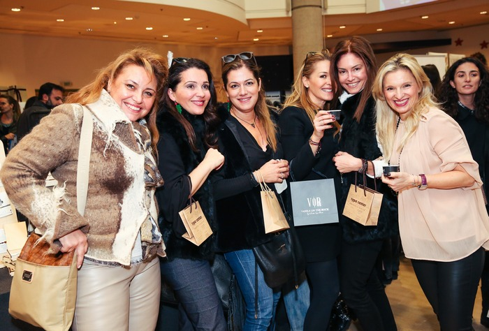 Ναλίτα Καρρέρ, Τίνα Στεφάνου-Σαββίδη, Σαλώμη Φλουτάκου, Ιωάννα Σακελλαρίου-Μουτσίδη, Έρη Σακελλαρίου, Βανέσσα Γερουλάνου