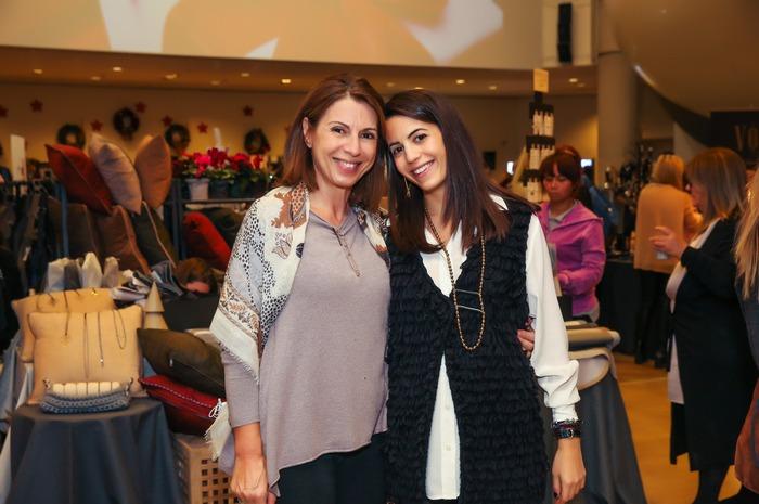 Η Λένα Ισμυρίδη με την κόρη της Ιλεάνα, στο corner του ολοκαίνουργιου El Concept!