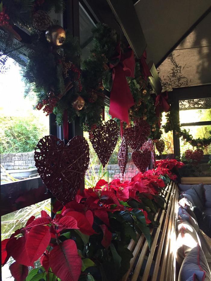 Αγαπάω πολύ τα εστιατόρια που σε εορταστικές περιόδους όπως τα Χριστούγεννα, ακολουθούν την διάθεση μας και