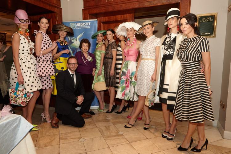 Vassilis Zoulias - Old Athens Resort '16 Women in Mykonos through the decades με τη Λίλη Βενιζέλου και τον Γιώργο Παππά, CEO της εταιρίας Dimstel