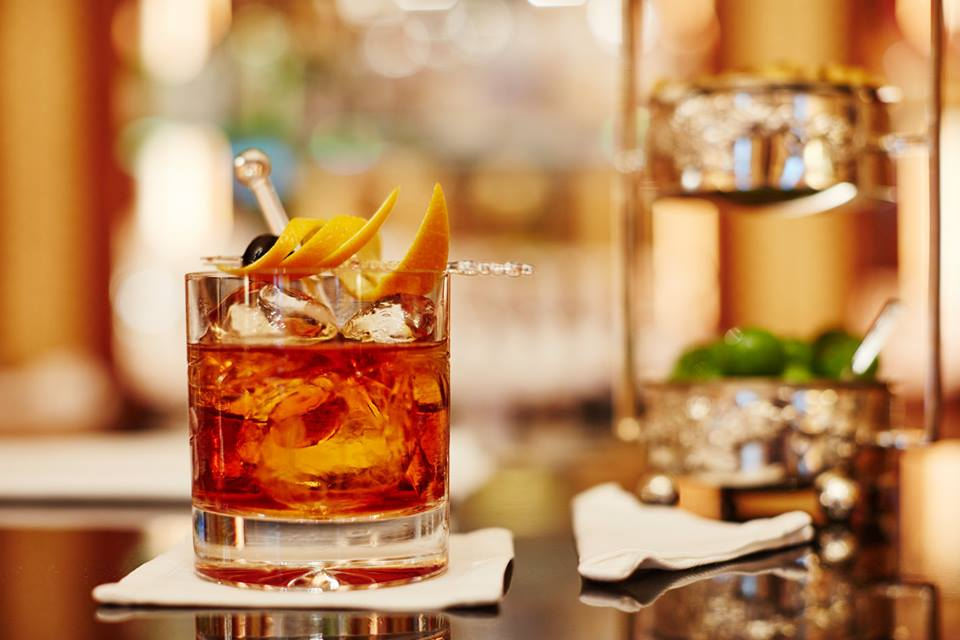 At the Library Bar, Carribean Old Fashioned is one of a kind!