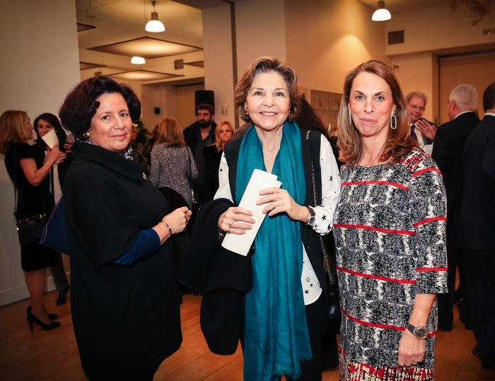 Μαρέττα Νικολάου, Πρόεδρος Παιδικής Στέγης , Μάρθα Βερνίκου μέλος ΔΣ Μαζί για το Παιδί, Μαριλένα Μηναΐδη Αντιπρόεδρος Κ.Ε.Α. Χαρά