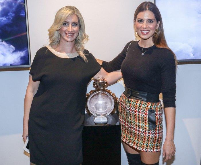 Κατερίνα Γιαννακοπούλου ( Marketing Manager Selective Fragrances Ομίλου Σαράντη ) Σταματίνα Τσιμτσιλή
