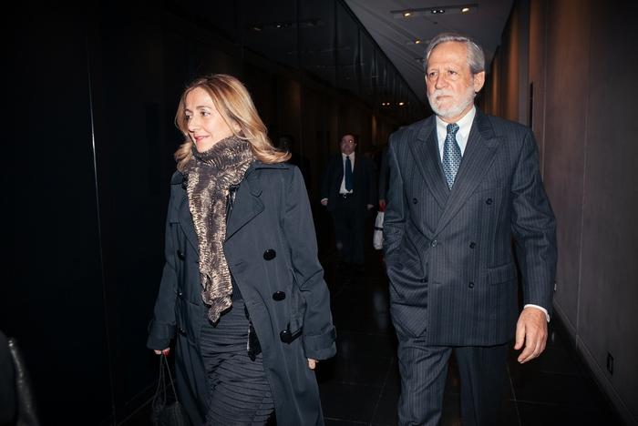 Ο Πρέσβυς Διονύσης Κοδέλλας και η σύζυγός του