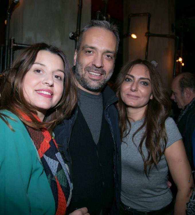 Η Ελένη και ο Κυριάκος Ραχώβαλη με την Κατερίνα Κίτσου