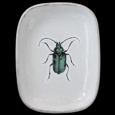 Green Insect Platter