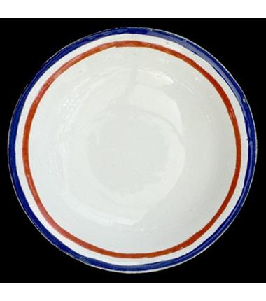 Tricolore Saucer