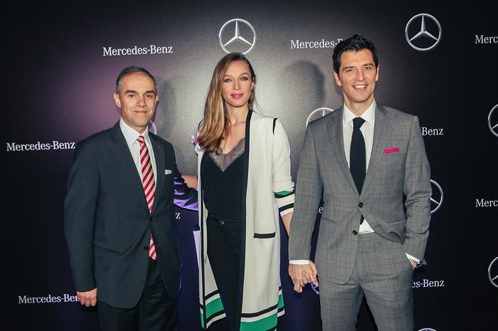 Ιωάννης Καλλίγερος-Πρόεδρος και Διευθύνων Σύμβουλος Mercedes-Benz Ελλάς Κάτια Ζυγούλη & Σάκης Ρουβάς