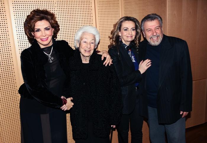 Τάσος Χαλκιάς, Σοφία Εφραίμογλου, Αντιπρόεδρος Ιδρύματος Μείζονος Ελληνισμού, Ουρανία Εφραίμογλου, Πρόεδρος του ΙΜΕ., Μιμή Ντενίση