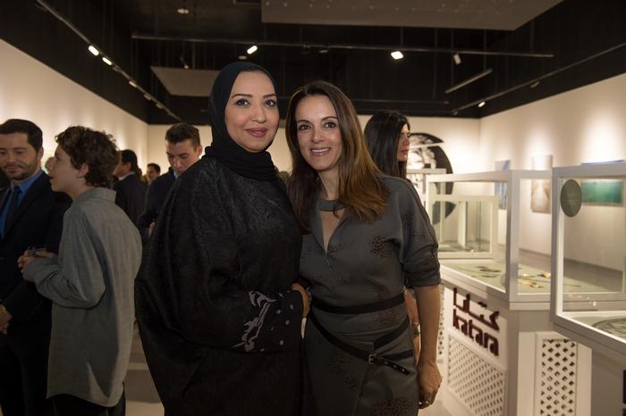 Qatari artist Amal Al Aathem, Έλενα Σύρακα