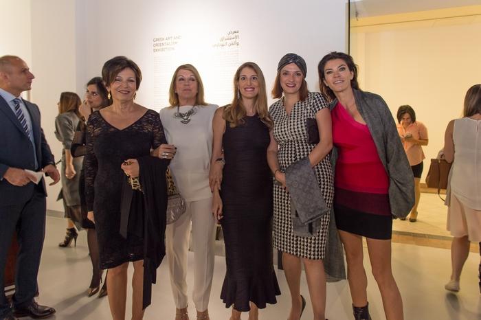 Ντέμη Βεζυρούλη, Φανή Κούτρα, Μαριλένα Κουτσούκου, Χριστίνα Κυριακίδη, Μαρίνα Βερνίκου