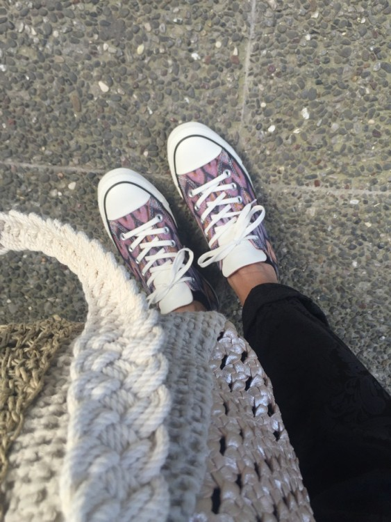 My new Missoni Converse All Star! Love them...