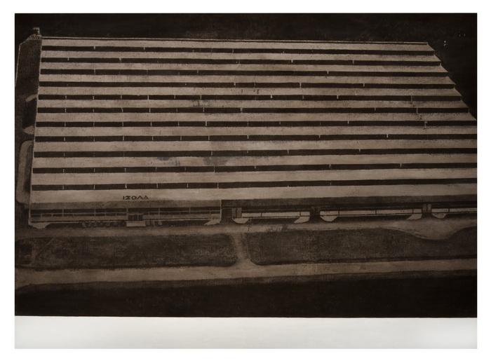 ΙΖΟΛΑ, 2016, λάδι σε καμβά, 190 x 260 εκ.