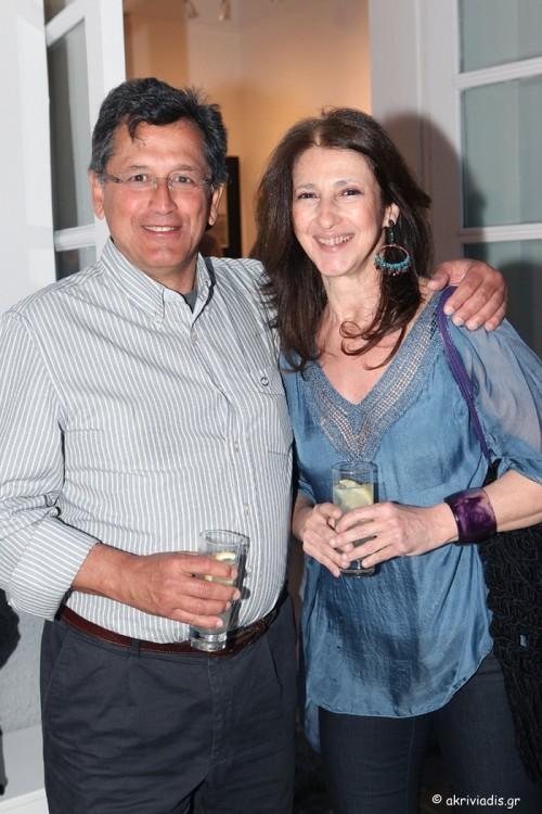 Ο Μανώλης Καζαμίας και η Τζένη Αντωνοπούλου