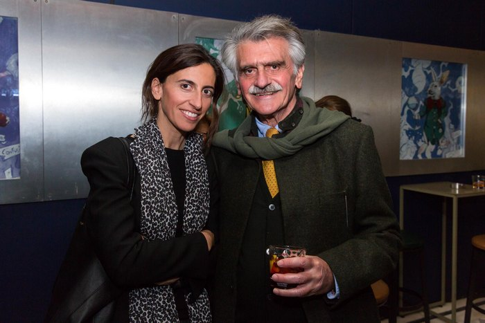 Κατερίνα Βορδώνη, Architect / Founder of VOIS Architects Μανώλης Βορδώνης, Πρόεδρος του Διοικητικού Συμβουλίου της Πρωτοβουλίας Σπετσών