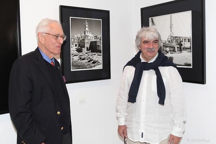 Ο φωτογράφος Robert ΜcCabe με τον Νίκο Μαστροπαύλο
