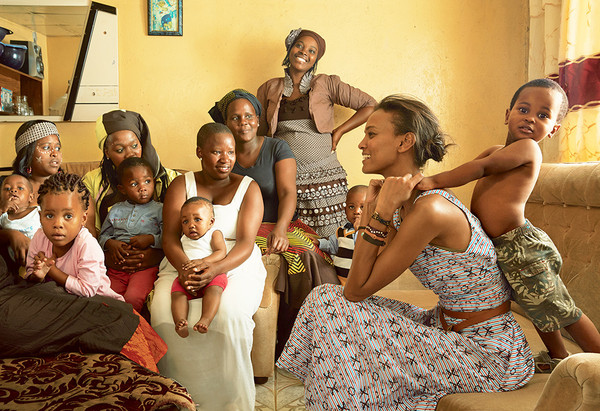 5% of all sales and proceeds from special promotions support LKFs work to help African moms thrive...