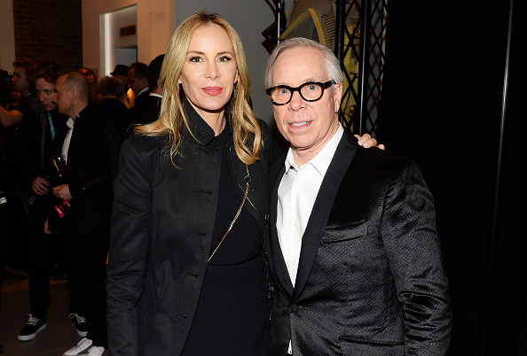 LONDON, ENGLAND - APRIL 04: Tommy Hilfiger (R) and wife Dee Ocleppo attend an after party for 'The Rolling Stones: Exhibitionism' at Saatchi Gallery on April 4, 2016 in London, England. (Photo by Dave J Hogan/Dave J Hogan/Getty Images)