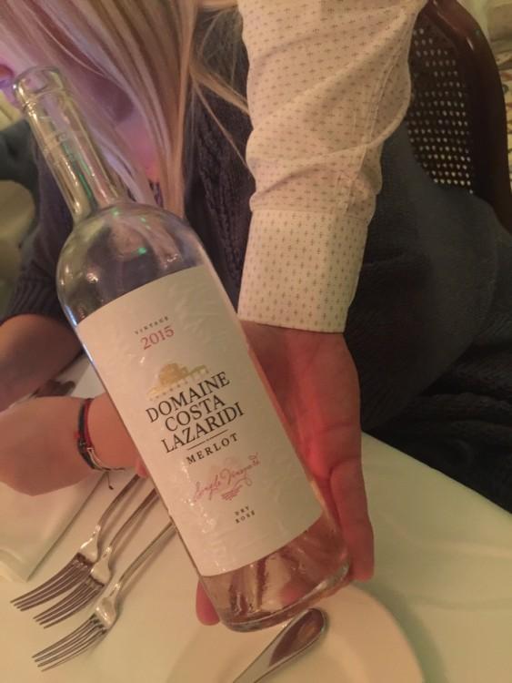 The Wine...