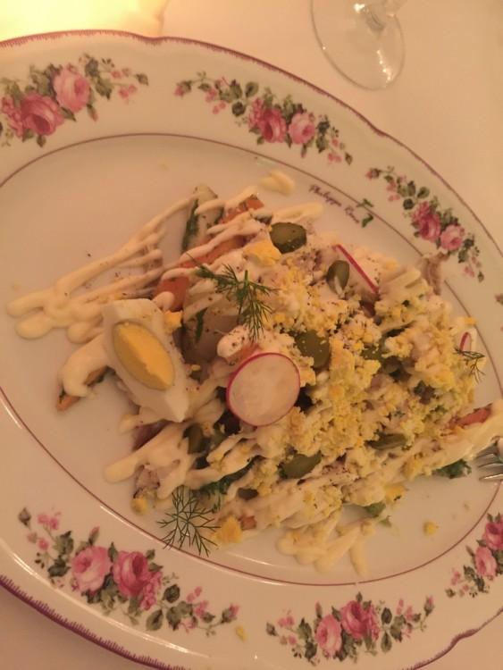 Η σαλάτα. Αθηναϊκή, με ψάρι ημέρας!
