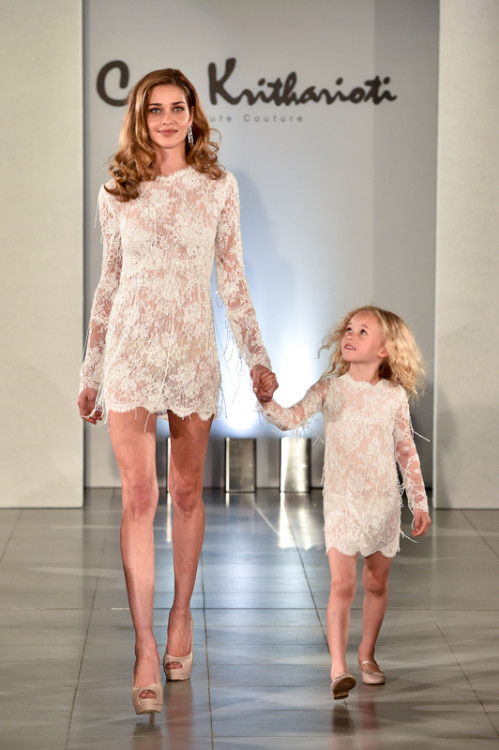 Celia Kritharioti Summer 2016 Collection at The Magazine at The Serpentine Sackler Gallery, London, Britain on 9 May 2016.