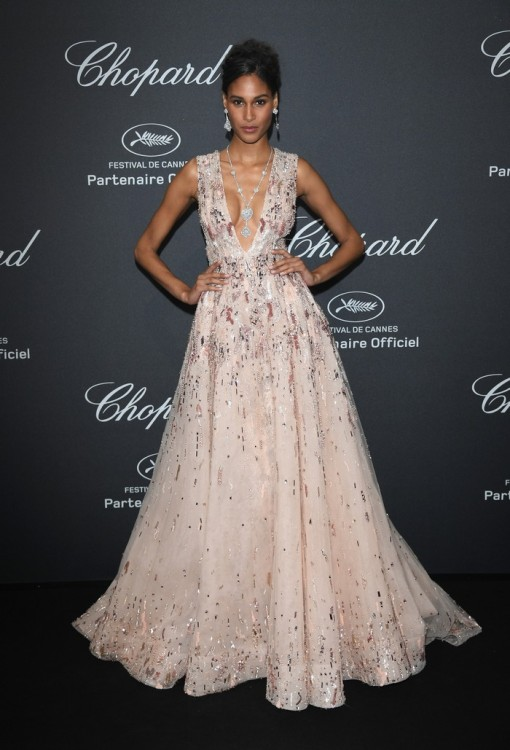 CANNES, FRANCE - MAY 16: Cindy Bruna attends Chopard Wild Party as part of The 69th Annual Cannes Film Festival at Port Canto on May 16, 2016 in Cannes, France. (Photo by Daniele Venturelli/Getty Images) *** Local Caption *** Cindy Bruna