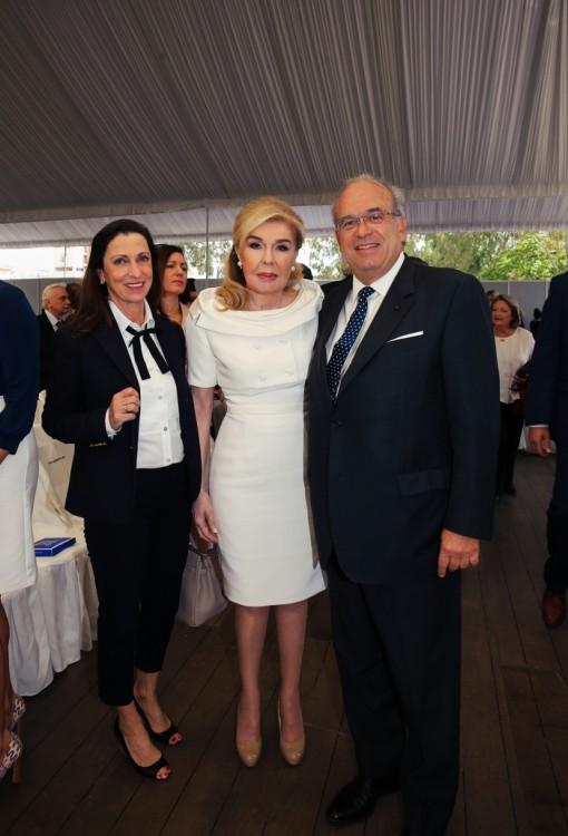 Jocelyne Khayat, Μαριάννα Β. Βαρδινογιάννη, David Khayat