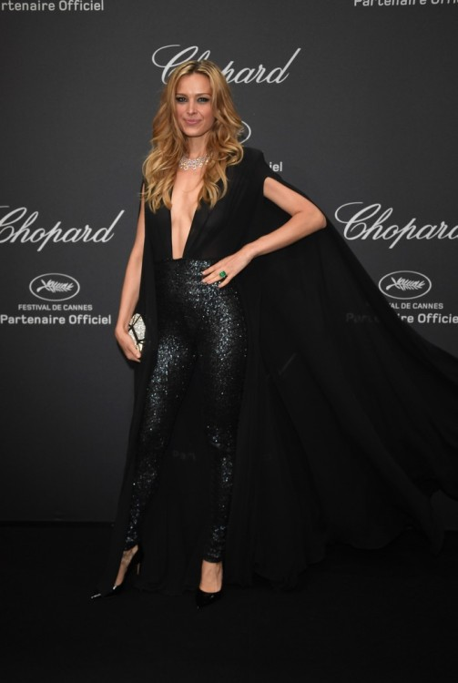 CANNES, FRANCE - MAY 16: Petra Nemcova attends Chopard Wild Party as part of The 69th Annual Cannes Film Festival at Port Canto on May 16, 2016 in Cannes, France. (Photo by Daniele Venturelli/Getty Images) *** Local Caption *** Petra Nemcova