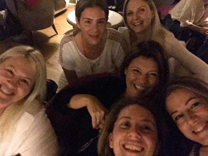 Εύη, Βάσω, Μαρία, Φαίη, Μαρίλυ, Σαλώμη