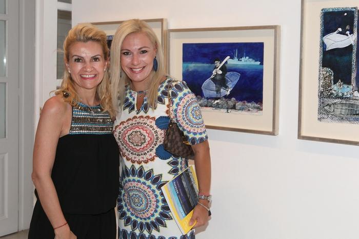 Η Έρση Βότση και η Τίνα Μεσσαροπούλου