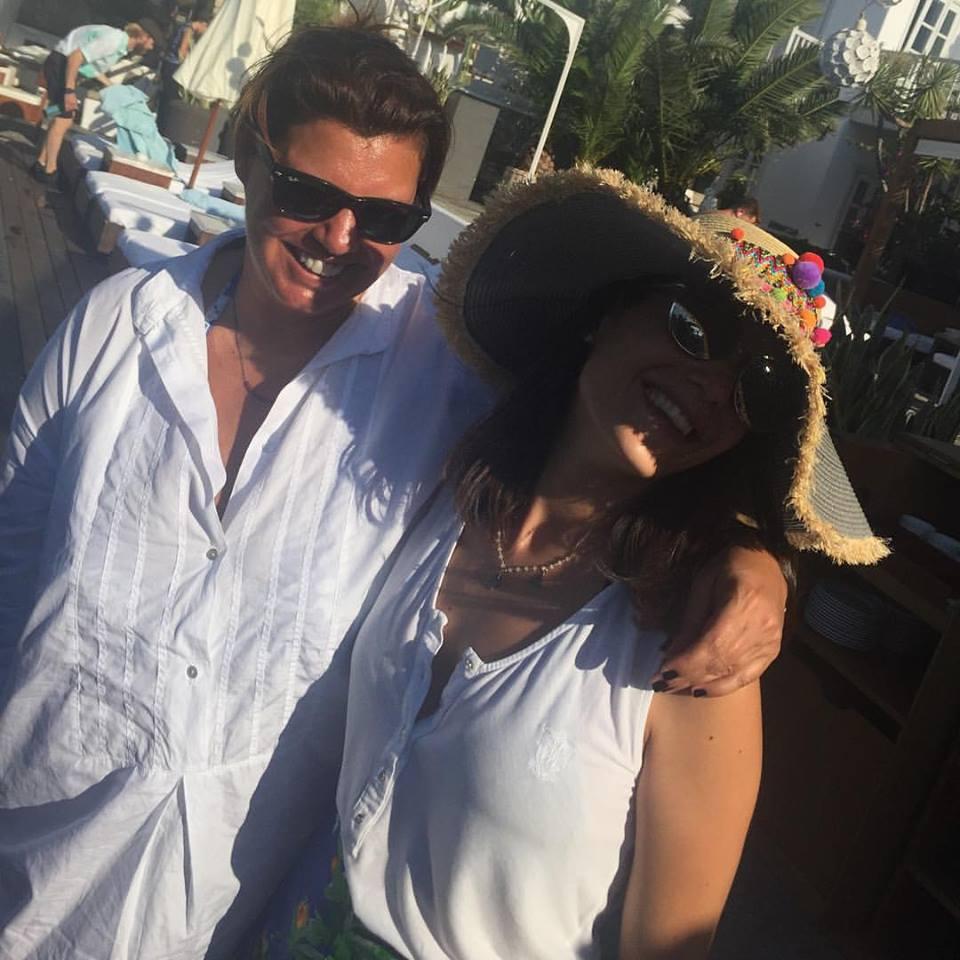 Με την Ιλεάνα Ισμυρίδη